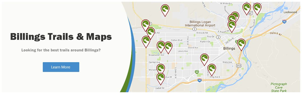 Billings Best Trails and Maps