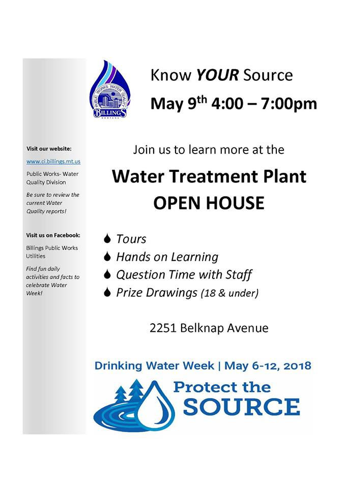 Water Treatment Open House