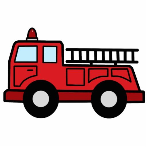 cartoon-art-fire-truck | from the internet
