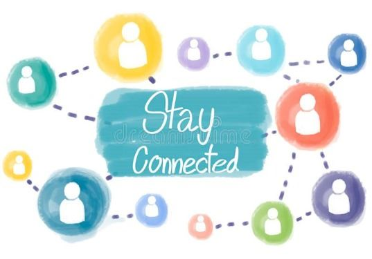 stay connected clipart by dreamstime