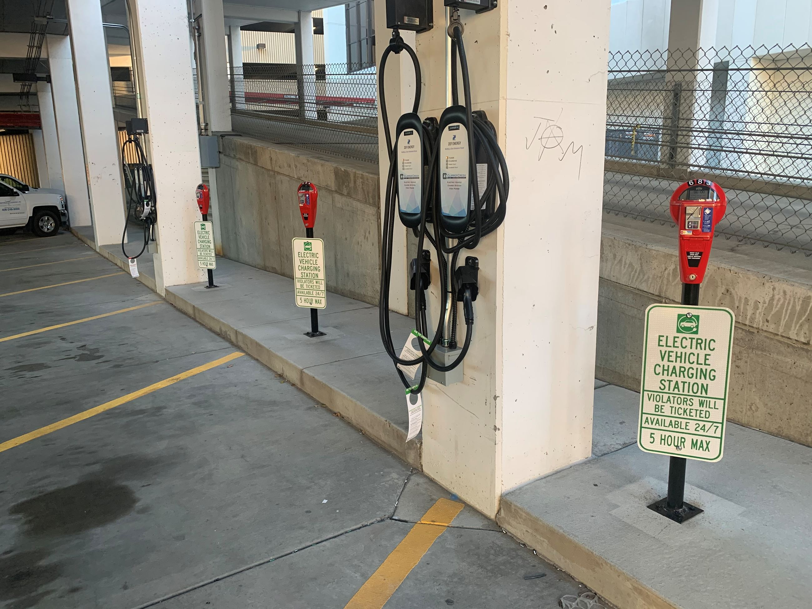 Photo of EV Charger at Wells Fargo